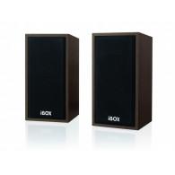 iBox IGLSP1 loudspeaker 10 W Cherry Wired