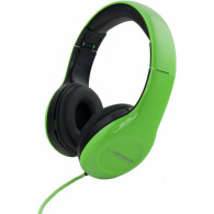 Esperanza EH138G headphones/headset Head-band Black,Green
