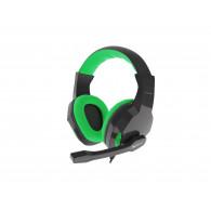 GENESIS ARGON 100 Headset Head-band Black,Green