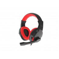 GENESIS ARGON 100 Headset Head-band Black,Red