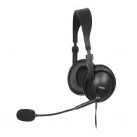 Headphones with microphone I-Box W1MV