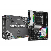 Asrock B450 Steel Legend motherboard Socket AM4 ATX AMD B450