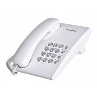 Panasonic KX-TS500PDW telephone Analog telephone White