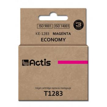 Ink cartridge ACTIS KE-1283 (replacement Epson T1283; Standard; 13 ml; Magenta)