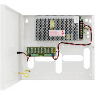 Power Supply PULSAR PSDC08128T PSDC 12V/8A/8x1A/TOPIC up to 8 analog cameras