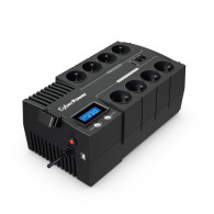 CyberPower BR700ELCD-FR uninterruptible power supply (UPS) Line-Interactive 0.7 kVA 420 W 8 AC outlet(s)