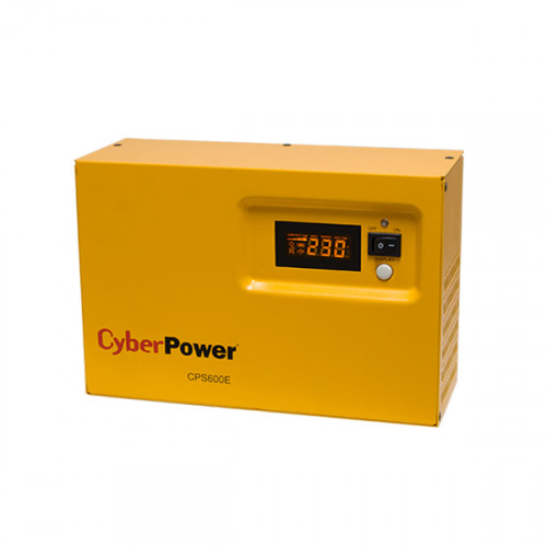 CyberPower CPS600E uninterruptible power supply (UPS) 600 VA 420 W 1 AC outlet(s)