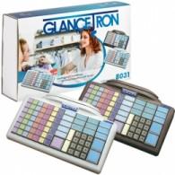 Glancetron Keyboard 8031, num., MSR, RS232, PS/2, kit, black