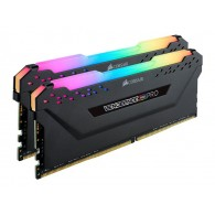 CORSAIR 32GB RAMKit 2x16GB DDR4 3000MHz 2x288 Dimm unbuffered 15-17-17-35 Vengeance RGB Pro Black Heat spreader RGB LED 1,35V XMP2.0