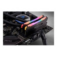 CORSAIR 32GB RAMKit 2x16GB DDR4 3200MHz 2x288 Dimm unbuffered 16-18-18-36 Vengeance RGB Pro Black Heat spreader RGB LED 1,35V XMP2.0