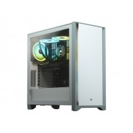 CORSAIR 4000D Tempered Glass Mid-Tower White case